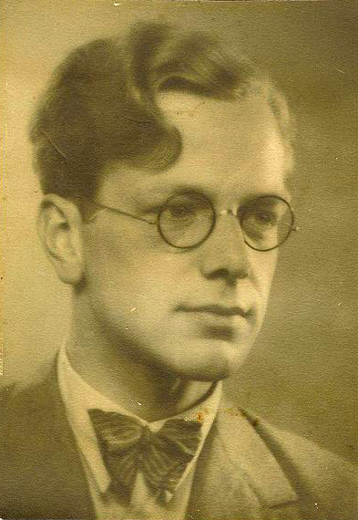 Peter Munch as a young man