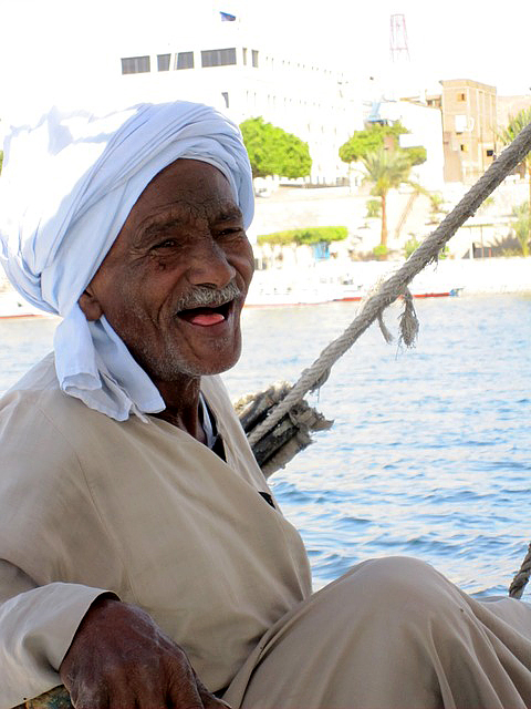 A Nubian elder who might be eligible for compensation