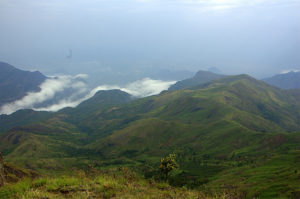 A scenic view of the Palni, or Palani, Hills of Tamil Nadu