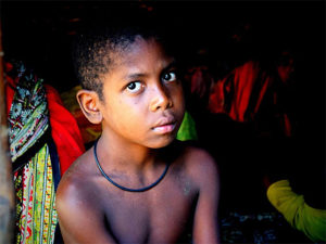 A Batek boy (Photo by Cleffairy that was on his blog Over a Cuppa Tea with a Creative Commons license)