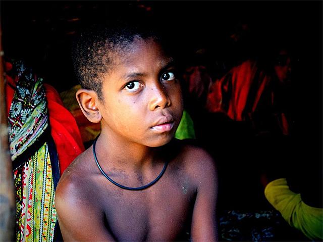 A Batek boy
