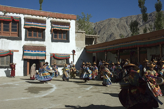 The Phyang Festival in Ladakh (Photo by hceebee on Flickr, Creative Commons license)