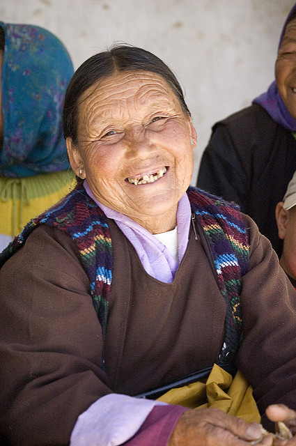 A Ladakhi woman from Phyang (Photo by hceebee on Flickr, Creative Commons license)
