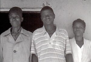 A Fipa family (Detail from the cover of Fipa Families: Reproduction and Catholic Evangelization in Nkansi, Ufipa, 1880-1960, by Kathleen R. Smythe. Photo by Prof. Smythe)