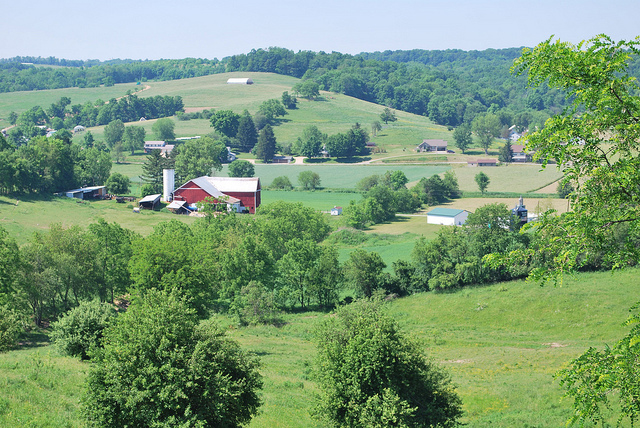 The Amish Country of eastern Ohio (Photo by Pat (Cletch) Williams on Flickr, Creative Commons license)