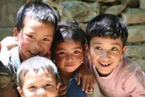 Ladakhi children (Photo by Daniela Hartmann on Flickr, Creative Commons license)