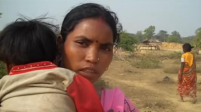 Women in a Birhor hamlet in Jharkhand