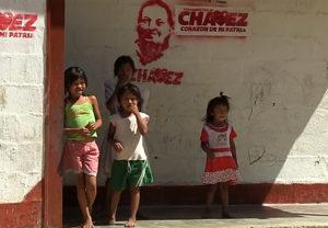 Piaroa kids, such as these in Agua Mena, lack adequate schools