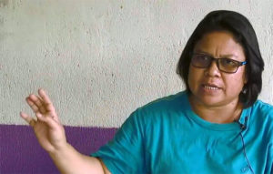 """Tijah Yok Chopil (Screenshot from the video """"Orang Asli Struggle for Land Rights, by Malaysiakini TV, Creative Commons license)"""