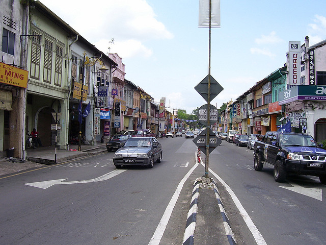 The town of Raub is fairly near Kampung Tual