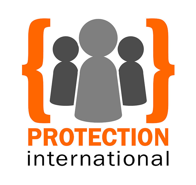 The logo of Protection International