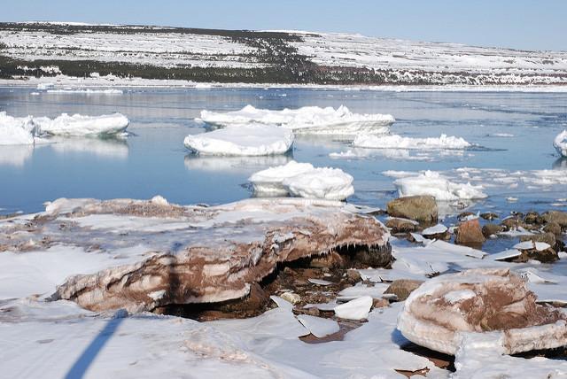 The south coast of Labrador, April 15, 2007