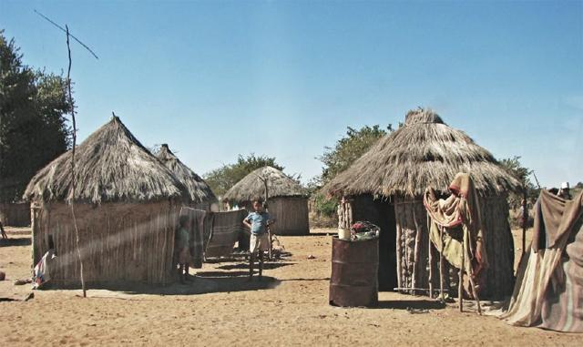 A remote San community in the Nyae Nyae