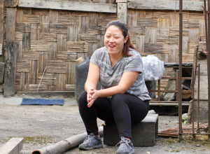 A young Lepcha woman