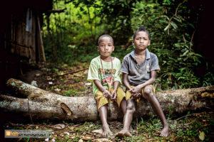 Batek kids