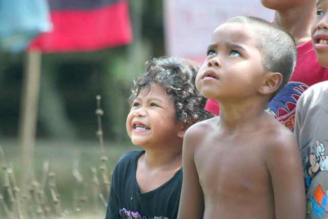 Semai kids in Gopeng