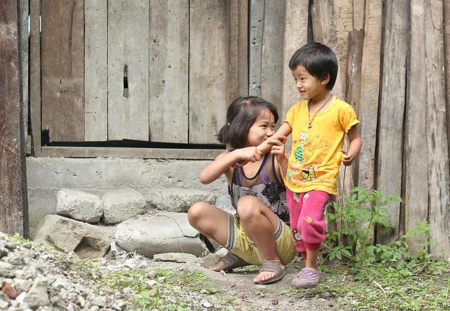 Lepcha children's affection