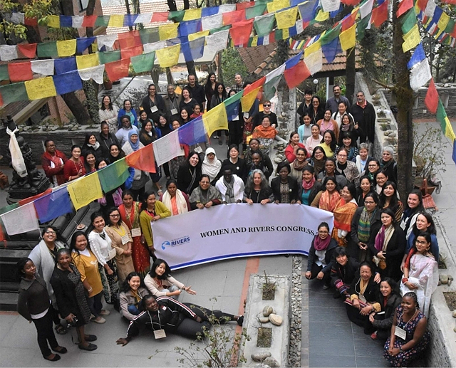 Participants in the Women and Rivers Conference, March 2019