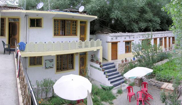 The Irfan Guest House in Leh