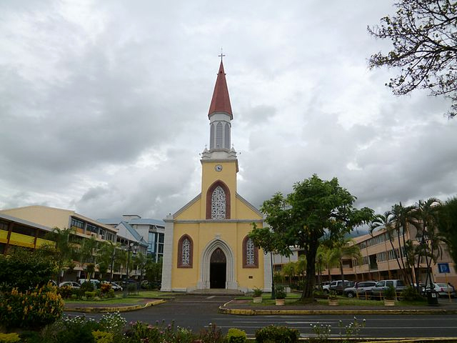 Cathedral of Notre-Dave in Papeete