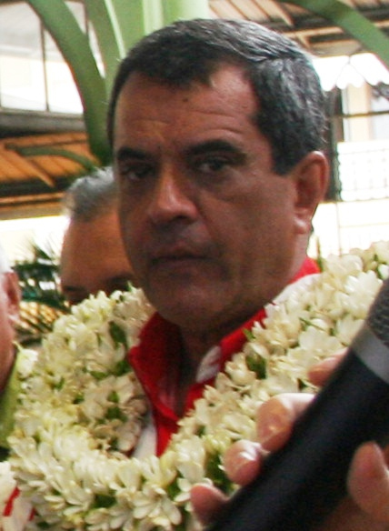 Edouard Fritch, Tahitian politician and President of French Polynesia