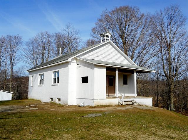 Amish school in Bradford County, Pennsylvania