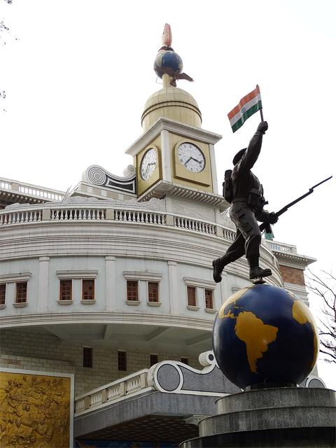 Gorkha memorial in Darjeeling
