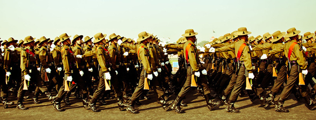 Gorkha regiment in the Indian Army