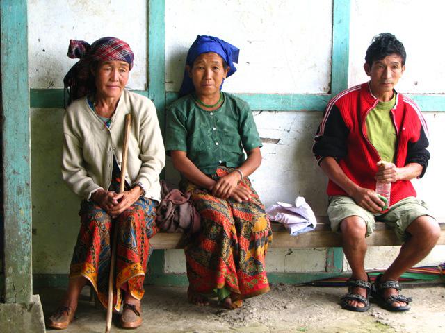 Lepcha villagers in Darjeeling