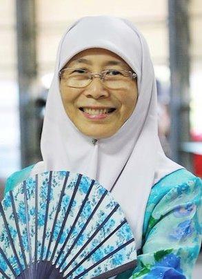 Wan Azizah Wan Ismail, the Deputy Prime Minister of Malaysia