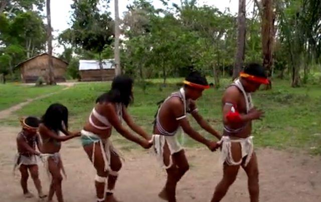 A Piaroa ritual
