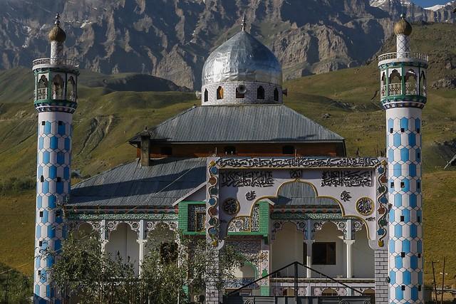 A mosque in Drass, Kargil