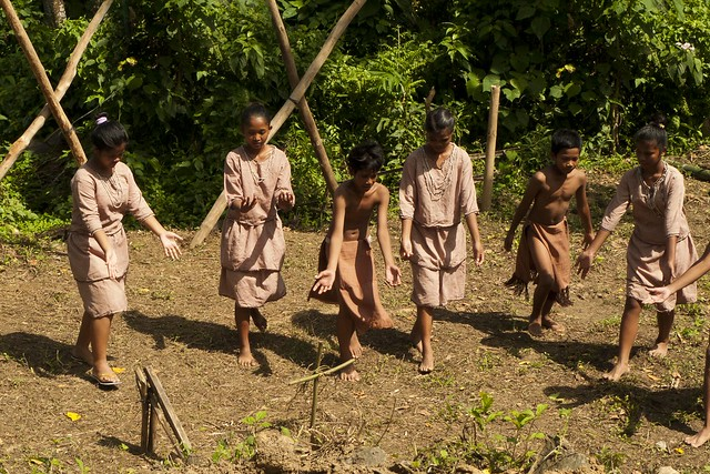 Mangyan farming lore acted out in a dance