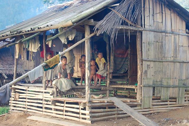 Mangyan village kids