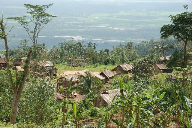 A Mangyan village