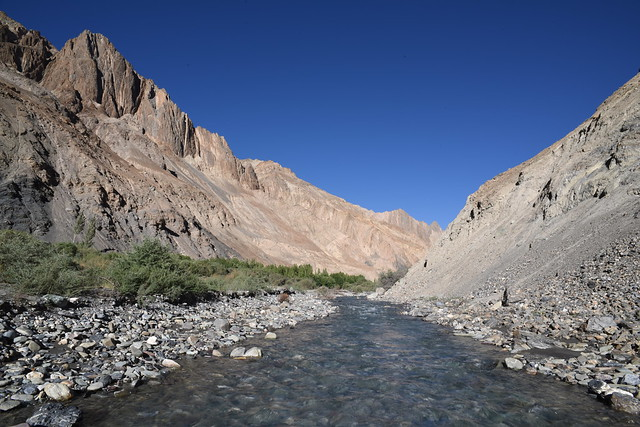 The Markha River (Photo by Chris Hunkeler on Flickr, Creative Commons license)