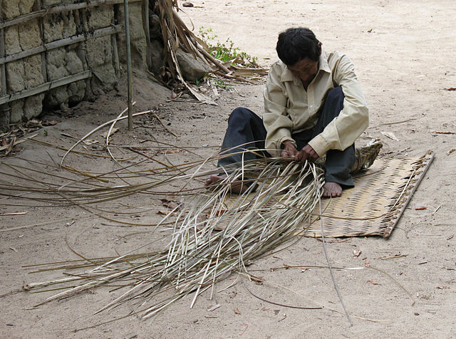 A Piaroa man working (Photo by Anagoria on Wikimedia, Creative Commons license)