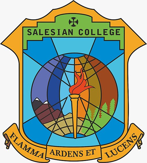 The logo of the Salesian College