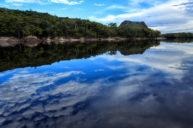 The Sipapo River (Photo by Fernando Flores on Flickr, Creative Commons license)