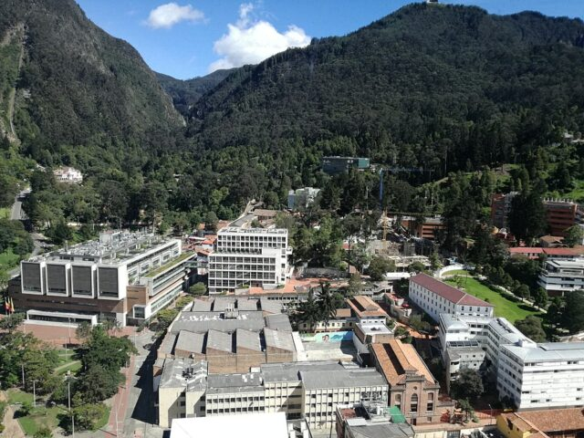 Campus of the University of Los Andes in Bogotá