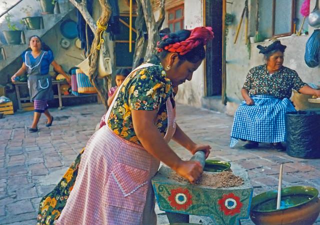 Abigail Mendoza, a Zapotec chef
